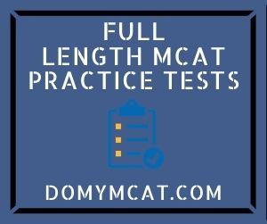Full-Length MCAT Practice Tests